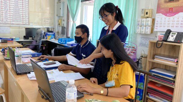 ณิชาภัทร หลอมประโคน (ID13) : เรียนรู้การนำเข้าข้อมูล(กองทุนแม่ของแผ่นดิน)ในระบบฐานข้อมูลกลาง @พัฒนาชุมชนอำเภอประโคนชัย