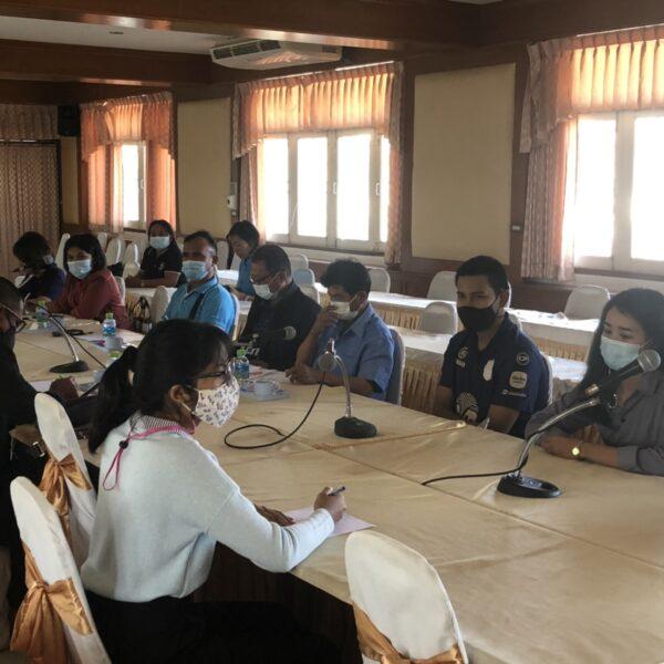 ณิชาภัทร หลอมประโคน (ID13) : เรียนรู้การจัดกิจกรรมการประชุมเชิงปฏิบัติการ(เรื่อง กองทุนแม่ของแผ่นดิน)